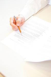 職務履歴書の記入例
