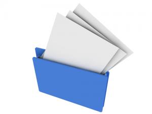 履歴書・職務履歴書と添状の送付
